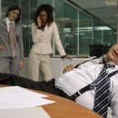 Photo: Funny snoring in the office