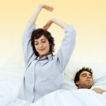 Sleep well to prevent snoring