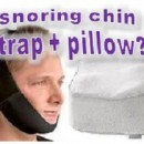 Can snoring chin straps work together with anti snore pillows?