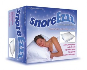 How Does the SnoreEzzz Pillow Work