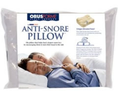 Obus Forme Anti Snore Pillow Review My Snoring Solutions