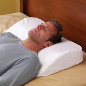 anti snoring pillow. Black Bedroom Furniture Sets. Home Design Ideas