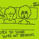 Can You Dream and Snore at the Same Time?