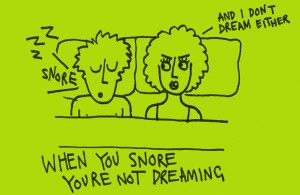 Snoring and Dreaming